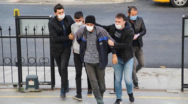 Evini uyuşturucu imalathanesine çeviren zanlı tutuklandı