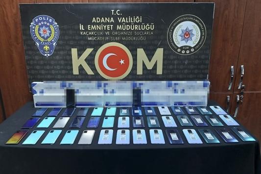 Adanada kaçakçılık operasyonu: 4 gözaltı