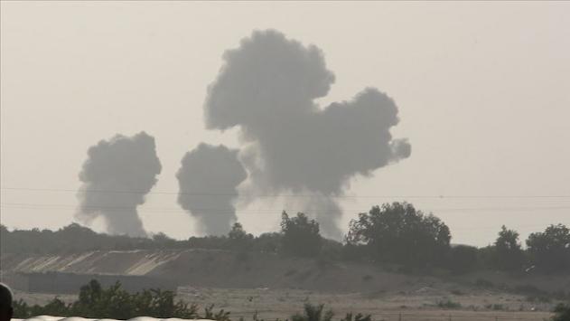 İsrail ordusundan Suriyeye hava saldırısı