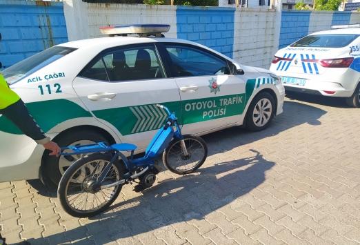 Hatayda otoyolda yarışan 2 motosiklet sürücüsüne para cezası