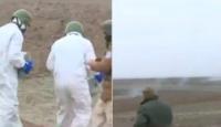 Ermenistan'ın Füzuli'ye attığı fosfor bombası etkisiz hale getirildi