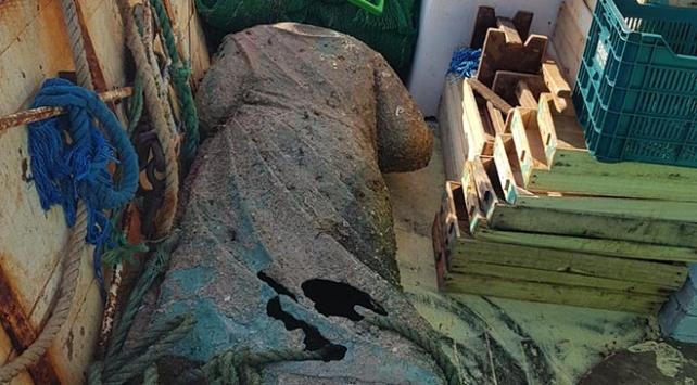 Denizden 2 bin yıllık heykel çıktı