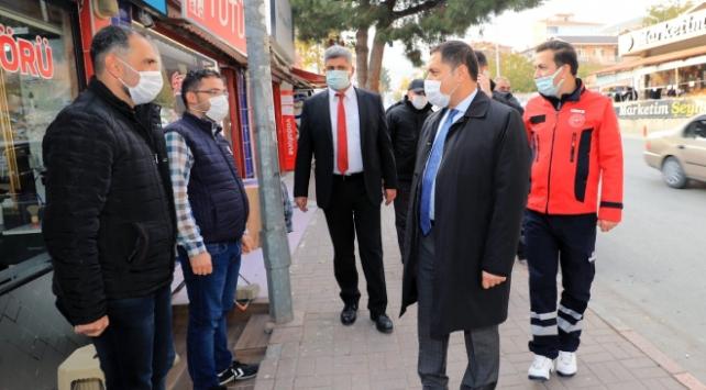 Amasya Valisi Masatlıdan vatandaşlara maske uyarısı
