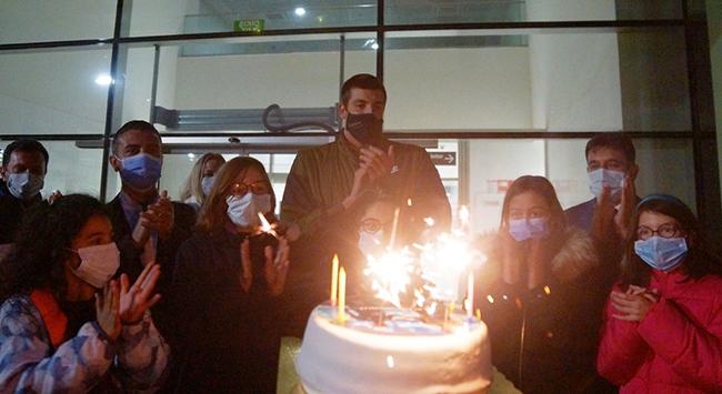 Emre Sakçı İzmirde coşkuyla karşılandı