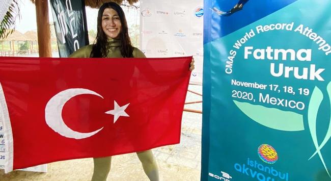 Fatma Uruktan bir dünya rekoru daha