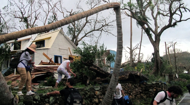 Iota Kasırgası Orta Amerikayı vurdu: 23 ölü