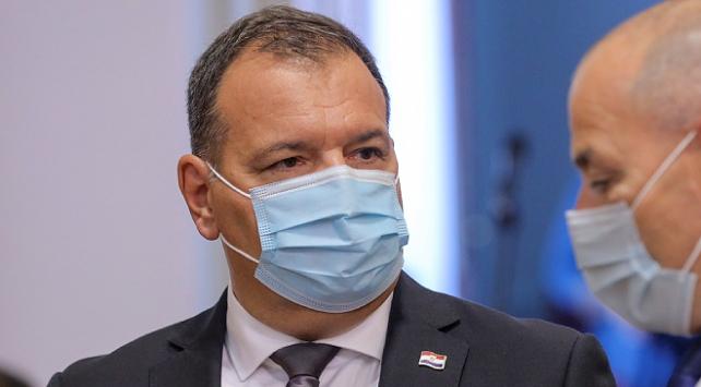 Hırvatistan Sağlık Bakanı Beros, koronavirüse yakalandı