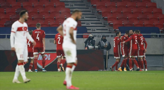 A Milliler, UEFA Uluslar Liginde grubu son sırada tamamladı