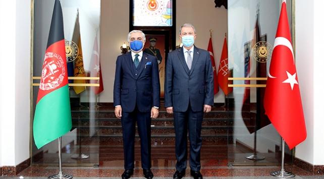Bakan Akar, Afganistan Milli Uzlaşı Yüksek Konseyi Başkanı Abdullah ile görüştü