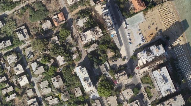 MSB, Kapalı Maraşı havadan görüntüledi
