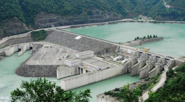 Çoruh Nehrindeki barajlardan ekonomiye dev katkı