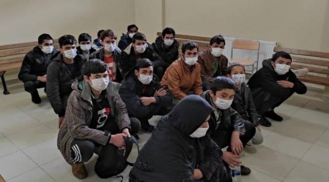 Kocaelinde 16 düzensiz göçmen yakalandı