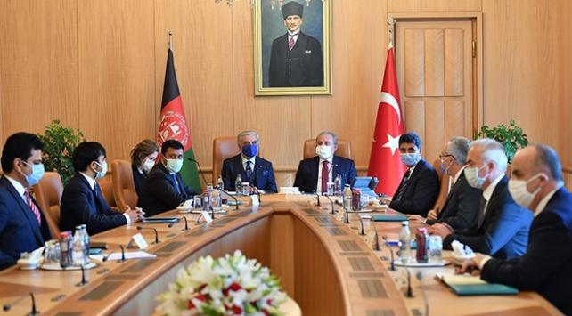 Afganistan Milli Uzlaşı Yüksek Konseyi Başkanından TBMM ziyareti