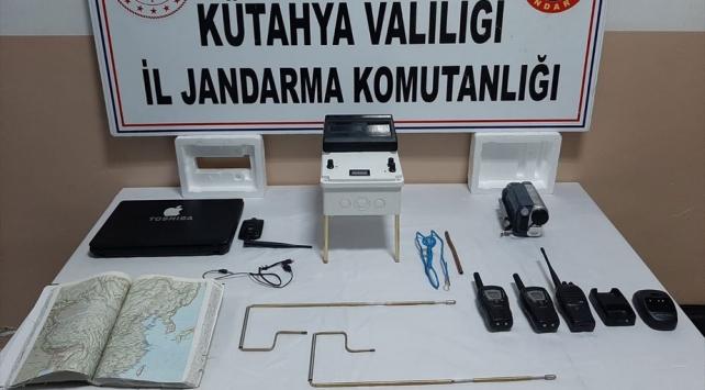 Kütahyada kaçak define arayanlara operasyon: 10 gözaltı