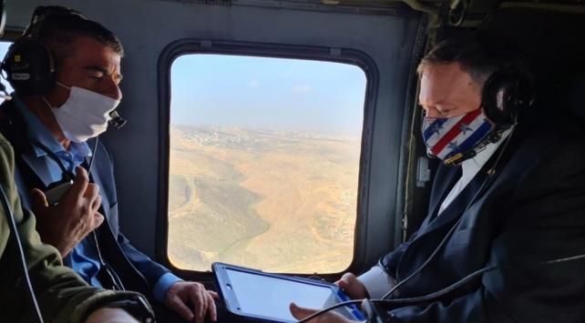 ABD Dışişleri Bakanı Pompeodan işgal altındaki Golan Tepelerine ziyaret