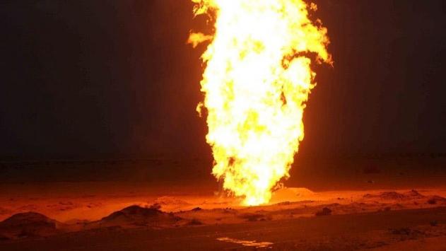 Mısırın Kuzey Sina vilayetindeki doğal gaz hattında patlama