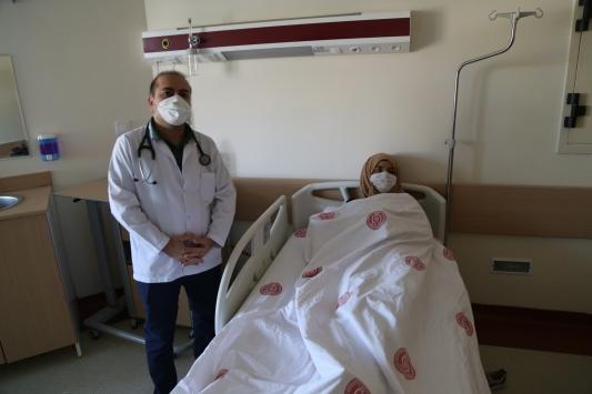 Doğuştan aort koarktasyonu bulunan kadın, ameliyatla sağlığına kavuştu