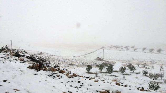 Malatyaya mevsimin ilk karı yağdı