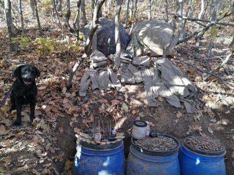 Bingölde PKKlı teröristlere ait el yapımı patlayıcı düzeneği ve mühimmat bulundu