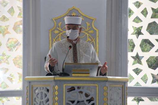 Serik ilçesinde Merkez Camii ibadete açıldı