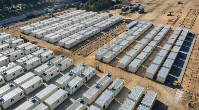 Depremzedeler için yapılan geçici konaklama merkezinde sona gelindi