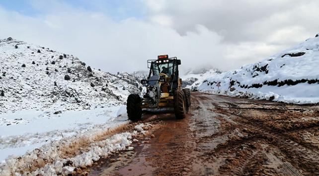 Kış gelmeden karla mücadele çalışmaları başladı