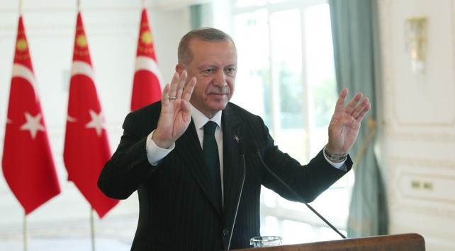 Cumhurbaşkanı Erdoğan: Geleceğimizi Avrupa ile birlikte kurmayı tasavvur ediyoruz