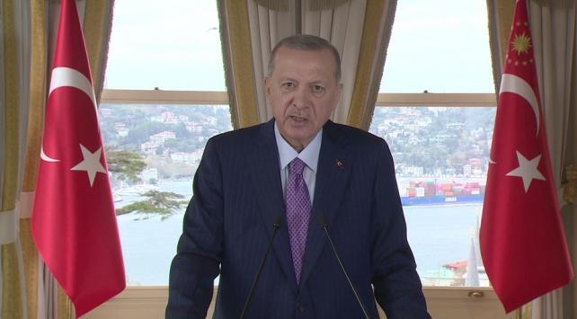 Cumhurbaşkanı Erdoğandan G20ye koronavirüs mesajı: Sorumluluğumuz arttı