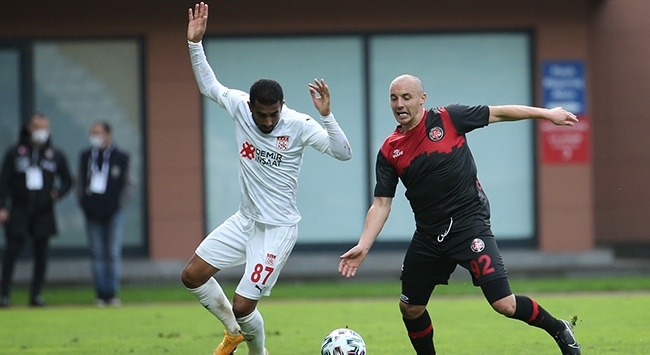 Fatih Karagümrük ile Sivasspor yenişemedi