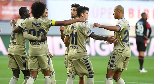 Fenerbahçe Ankarada rahat kazandı
