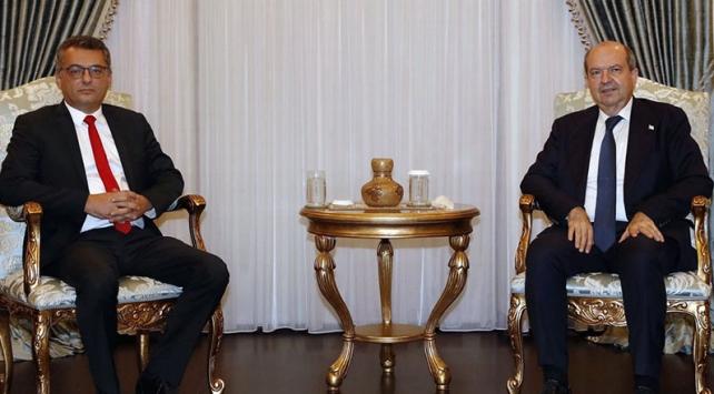 KKTC Cumhurbaşkanı Tatar, hükümeti kurma görevini Tufan Erhürmana verdi