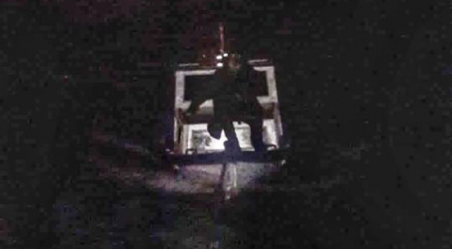 İstanbul Boğazında sürüklenen tekne kurtarıldı