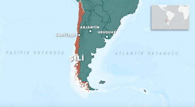 Şili 6,2 büyüklüğünde depremle sallandı