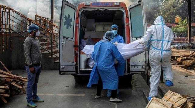 Hindistanda 501 kişi daha koronavirüsten öldü