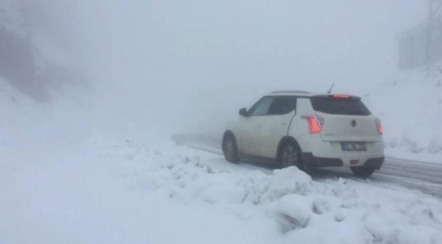 Artvinde kar kalınlığı 30 santimetreye ulaştı