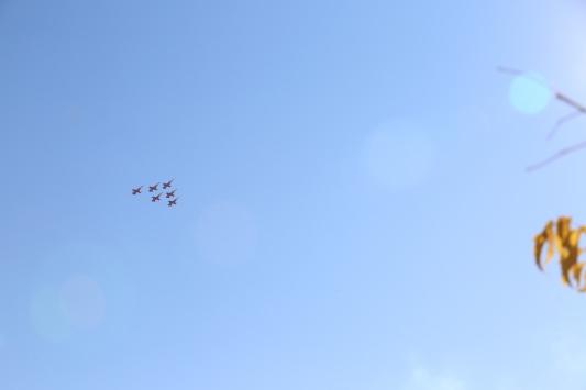 Türk Yıldızları Mardin semalarında gösteri uçuşu yaptı