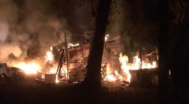 Boluda kümes yangını: 100 tavuk telef oldu