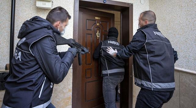 Ankaradaki narkotik operasyonlarında 35 tutuklama