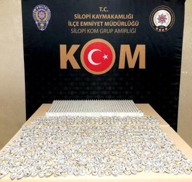 Şırnakta uyuşturucu ve kaçakçılık operasyonları: 2 tutuklama