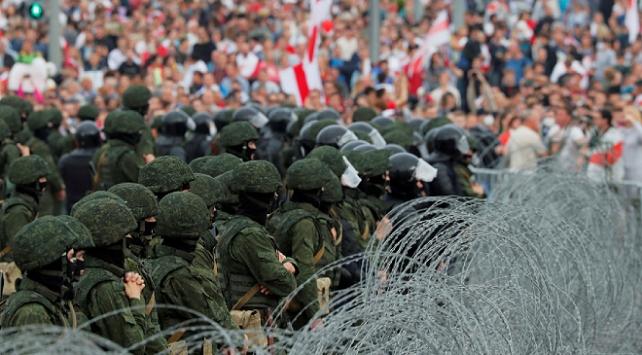 Belarusta seçim protestoları sürüyor