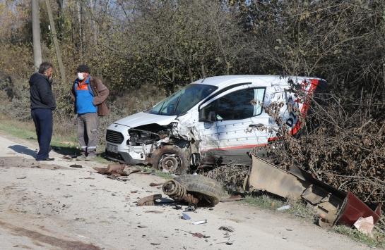 Düzcede zincirleme trafik kazası: 3 yaralı