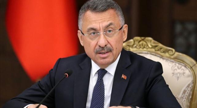 Cumhurbaşkanı Yardımcısı Oktay: İrini Harekatı taraflı olduğunu bir kez daha tescil etmiştir