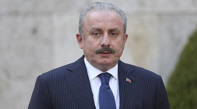 TBMM Başkanı Şentoptan Türk gemisinin hukuk dışı aranmasına tepki