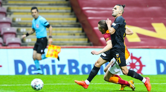 Galatasaray bu sezon evinde 7 puan kaybetti