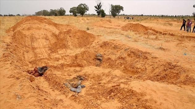 Libyanın Terhune kentinde toplu mezar bulundu