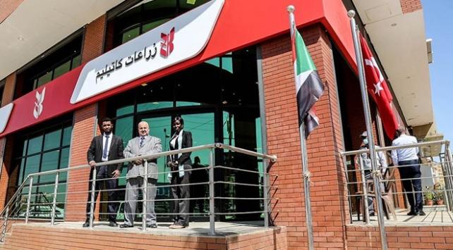 Ziraat Katılım Sudanda şube açtı