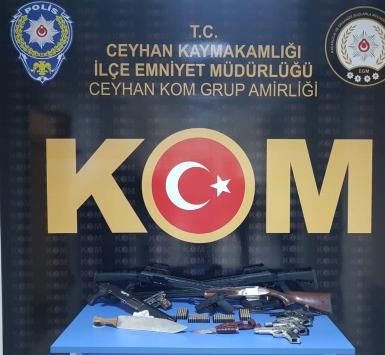 Adanada silah kaçakçılığı operasyonu: 3 gözaltı