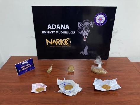 Adanada uyuşturucu operasyonlarında yakalanan 58 şüpheliden 19u tutuklandı