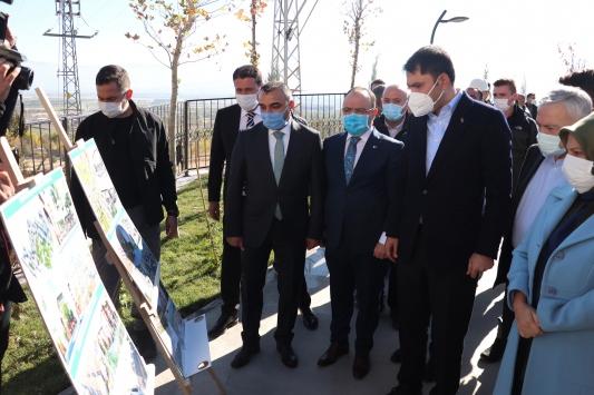 Çevre ve Şehircilik Bakanı Kurum, Elazığda depremzedeler için inşa edilen konutları inceledi