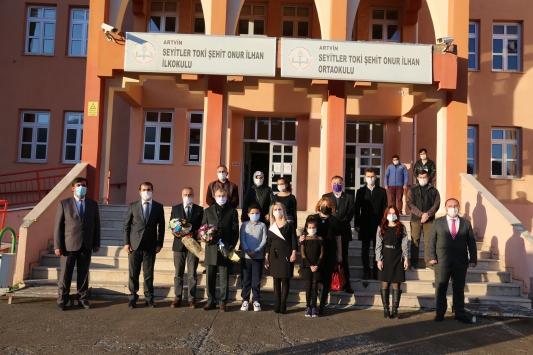 Artvinde Zeka Oyunları Kulübü ve Kütüphanesi açıldı